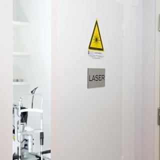 La salle laser